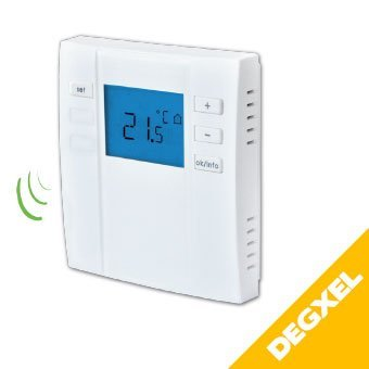 wireless radio room thermostat