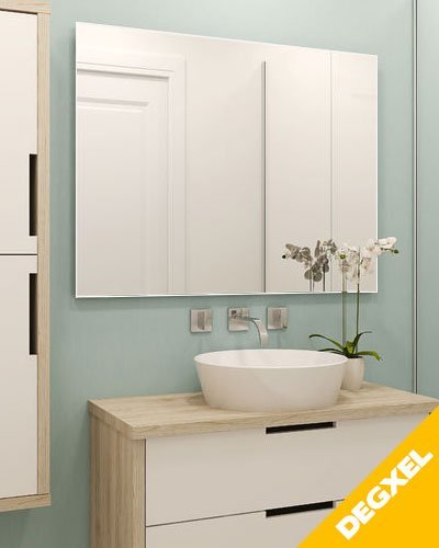 Electric heating mirror 120 cm x 80 cm x 2cm