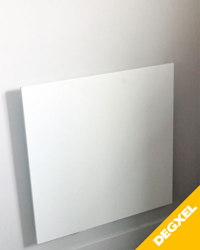 infrared slimline square heater 60x60cm