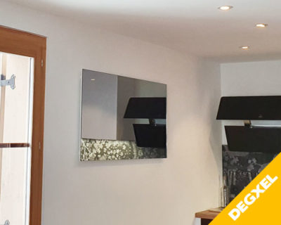 infrared mirror panel heater