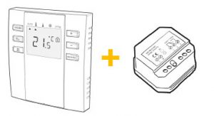 Control Pack #2: Wireless switching receiver controlled by Wireless Thermostat