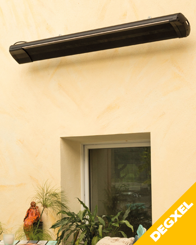 HIGH EFFICIENCY INFRARED HEATING FOR COVERED EXTERIOR 2400W