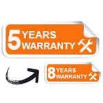 5-8-years-warranty infrared heaters