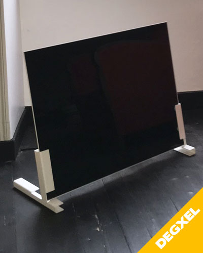 Free standing mobile infrared heater
