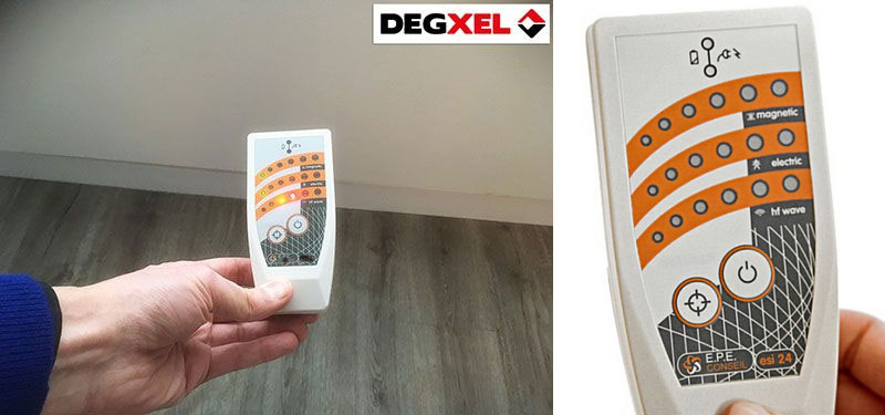 Degxel heaters very low electromagnetic pollution